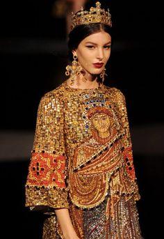 Dolce Gabbana F/W 2014 Collection, Vladimir Potop