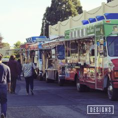 Around Town: Off The Grid - Sunnyvale, CA. Off the Grid is a roaming mobile food extravaganza. They offer fantastic food, music and a great time across the Bay Area. | Designs of Any Kind
