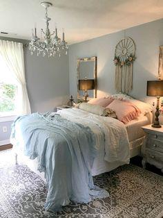 Romantic Shabby Chic Bedroom Decorating Ideas (42)