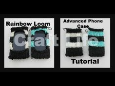 Advanced Phone Case Tutorial on the Rainbow Loom