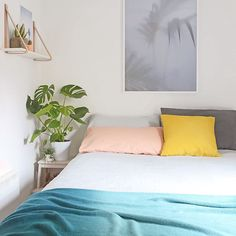 """Take a peek at my bedroom makeover over on fulltimefiesta today! """