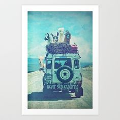 Buy NEVER STOP EXPLORING II Close Up by Monika Strigel as a high quality Art Print. Worldwide shipping available at Society6.com. Just one of millions of…