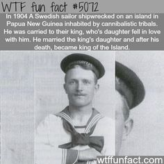 - Fact- : Swedish Sailor shipwrecked on and island becomes a king - WTF... www.letstfact.com