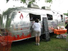 Got to check out the Red Hot food truck this week.  Two enthusiastic thumbs up for the Korean bbq beef tacos!