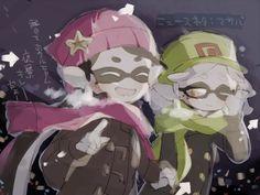 #SquidSisters #Callie #Marie
