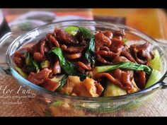 Beef Hor Fun - Flat Rice Noodle Stir Fry with Beef in Dark Sauce- Recipe