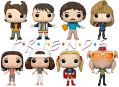 Tv: Friends, Friends Tv Show, Funko Pop Dolls, Funko Pop Figures, Chandler Bing, Ross Geller, Rachel Green, Friends Merchandise, Girl Drawing Sketches