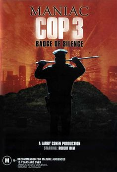 maniac cop Movie | Maniac Cop 3: Badge of Silence Movie Posters From Movie Poster Shop