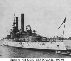 USS Iowa (BB-4)    http://www.history.navy.mil/photos/images/h53257.jpg
