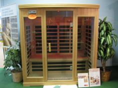 """Research shows """"stress"""" in our everyday lives adversely affects our health.  Body temperature is raised in the sauna, relaxing the body and releasing endorphins to promote a deeper, more restful sleep -- destressing the mind and healing the body. TOP TEN HEALTH BENEFITS OF A SAUNA Relieves Stress, Burns Calories, Flushes Toxins, Relaxes Muscles, Cleanses Skin, Fights Illness, Soothes Joints, Sleep Better, Feels Good & Improves Cardiovascular Fitness.  Pamper yourself in your own """"Sauna""""…"""