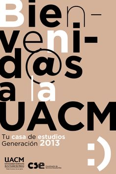 Bienvenida a la UACM 2014 Artwork, Student House, Mexico City, Work Of Art, Auguste Rodin Artwork, Artworks, Illustrators