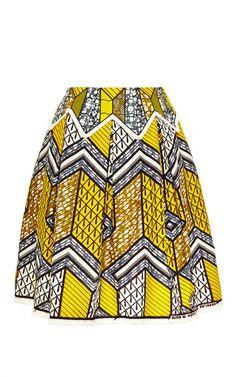 Mombasa Skirt by Lena Hoschek for Preorder on Moda Operandi