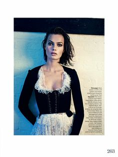 visual optimism; fashion editorials, shows, campaigns & more!: the last seduction: moa aberg by aitken jolly for uk elle april 2015