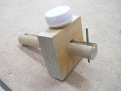 Homemade Marking Gauge / Fabriquer un trusquin