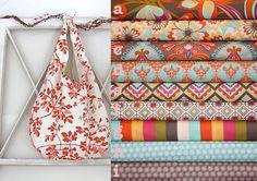 Cabana Blooms Sling Boho Bag Knitting and by knitshearbliss, $28.00
