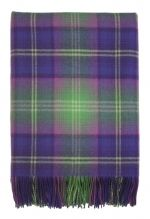 Troon Bright Check Lambswool Rug