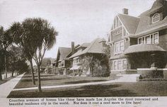 My, how times have changed.  From 1915.  Possibly Adams Street.  Bizarre Los Angeles