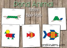 Pond Pattern Block Mats