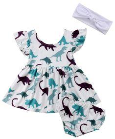 b3e45d115f54 18 Best Dinosaur dress images | Dinosaur dress, Dinosaurs, Baby girls