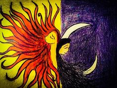 Sun and Moon in Love