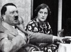 Lady Unity Mitford with Adolf Hitler