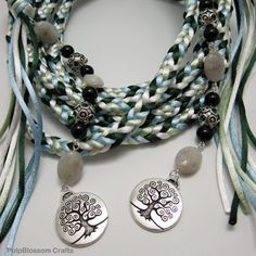 Handfasting Cord. I love the tree of life pendants, would want to put in my own colors though