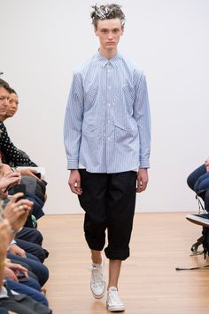 Spring 2015 Menswear - Comme des Garçons Shirt