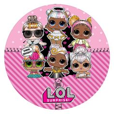 LoL SUPRIME Happy 6th Birthday, Girl Birthday, Cupcake Toppers Free, Cowgirl Party, Photo Banner, Lol Dolls, Fun Crafts For Kids, Barbie, Baby Dolls