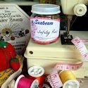 Organize & Label with Vintage Sunbeam Jar Labels {free printables}