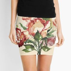 """Rosenstrauß"" von Mojart   Redbubble Shopping, Fashion, Sleeveless Tops, Mini Skirts, Outfit Ideas, Clothing, Moda, Fashion Styles, Fashion Illustrations"