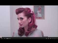 A lot of you gals are having trouble with victory rolls. Here is an easy way to fake them that still looks super cute and lasts all day!      XOXO  Cherry Dollface  http://www.facebook.com/thecherrydollface  instagram: thecherrydollface