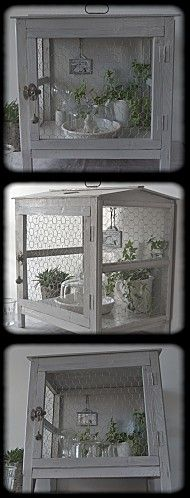 "ancien garde-manger  "" la maison rouge"" ▇  #Vintage #Home #Decor  via - Christina Khandan  on IrvineHomeBlog - Irvine, California ༺ ℭƘ ༻"