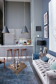 10 vintage rugs for your living room design _ see more inspiring articles here: http://www.delightfull.eu/en/inspirations/