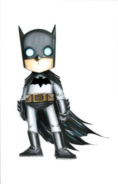 Chris Uminga ORIGINAL BATMAN DC COMICS