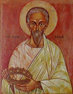 Justin Martyr with the crown of martyrdom. The tradition that Jesus was born in a cave just outside of Bethlehem is attested to by Justin Martin (ca. Origin of Alexandria wrote that the cave was regularly pointed out by locals. Catholic Memes, Catholic Saints, Roman Catholic, Humor Religioso, Justin Martyr, Ignatius Of Antioch, Early Church Fathers, Religious Humor, Christian Humor