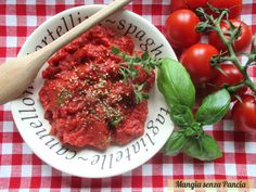 Salsa per pizza light, ricetta di base