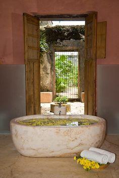 Hacienda Tekik de Regil-9 bath