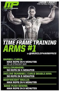 Time frame training arms 1