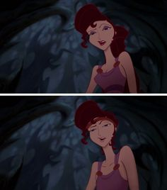 Genderbent meg from Hercules - otherwise known as the king of sass
