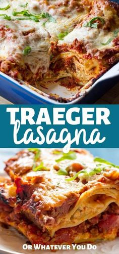 Low Unwanted Fat Cooking For Weightloss Traeger Lasagna Homemade Pellet Grill Lasagna Pellet Grill Recipes, Smoker Recipes, Grilling Recipes, Oven Recipes, Meat Recipes, Ricotta, Easy Homemade Lasagna, Homemade Breads, Outdoor Cooking Recipes