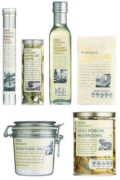P designs Tesco ingredients range