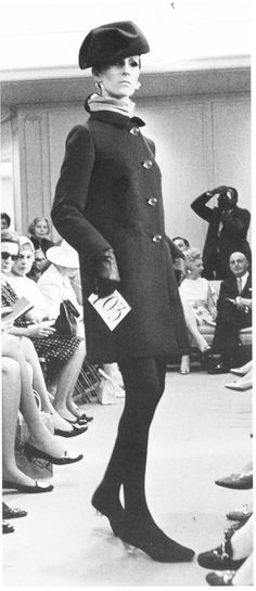 #halston A look from Halston's first collection.