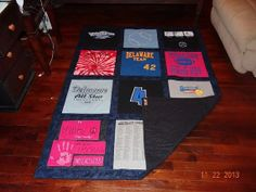 T shirt Memory Quilt with Your  Tee Shirts by sunshineofautumn, $120.00