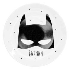 Une assiette en porcelaine Batman, 5,99 €