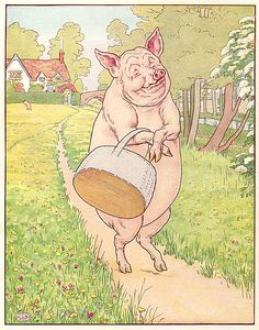 Leslie Brooke - This Little Pig Went To Market