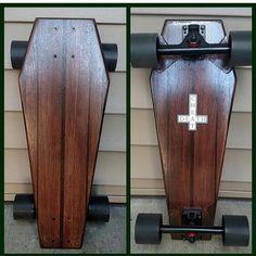 Drôle de skateboard