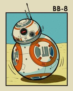 BB-8: The Force Awakens by Timothy Anderson