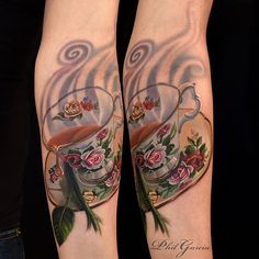 Tea Cup - Tattoo