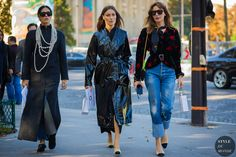 Paris SS 2017 Street Style: Gilda Ambrosio, Giorgia Tordini and Ece Sukan | STYLE DU MONDE | Bloglovin'