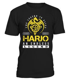 The Legend is Alive HARJO An Endless Legend Last Name T-Shirt #LegendIsAlive